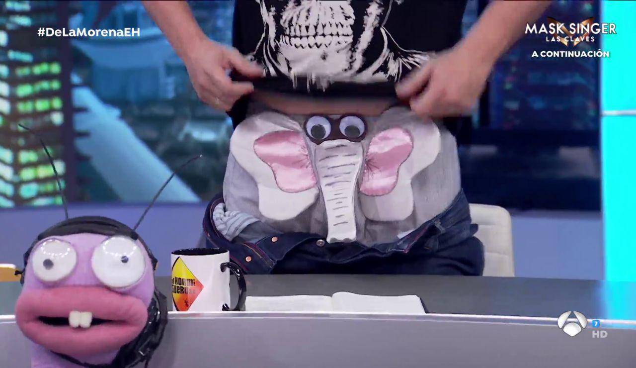¡Ver para creer! Pablo Motos y El Monaguillo enseñan los calzoncillos en 'El Hormiguero 3.0'