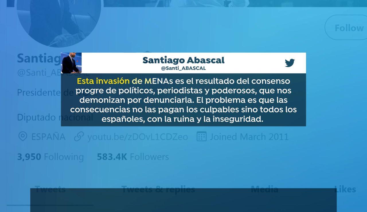 Tuit Santiago Abascal