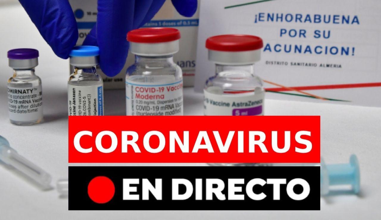 Coronavirus España: Última hora de las vacunas, rebrotes y restricciones sin estado de alarma, en directo