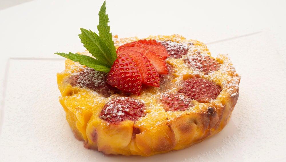 Arguiñano: solo dos utensilios para elaborar la receta de clafoutis de fresa