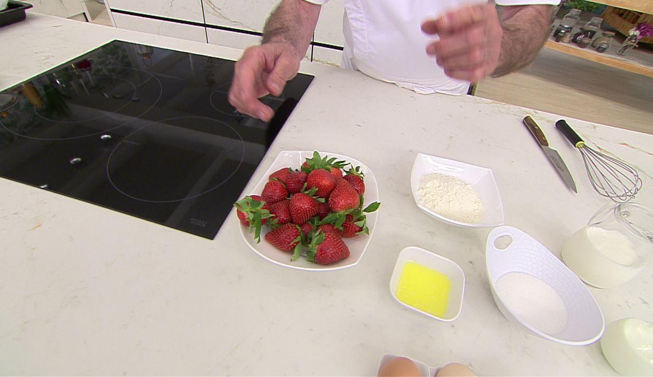 ¿Cortas el tallo antes o después? Arguiñano desvela la forma correcta de lavar las fresas