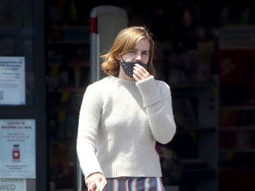 Emma Watson, en pijama en plena calle de Los Ángeles