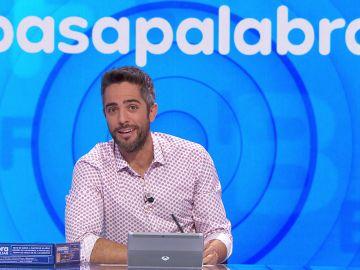 Roberto Leal celebra un año de Pasapalabra