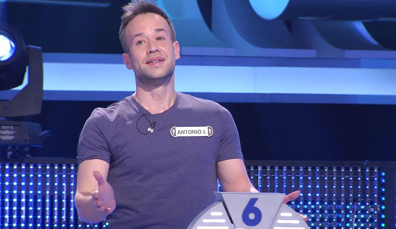 El curioso caso del concursante de '¡Ahora caigo!' que responde todo en francés
