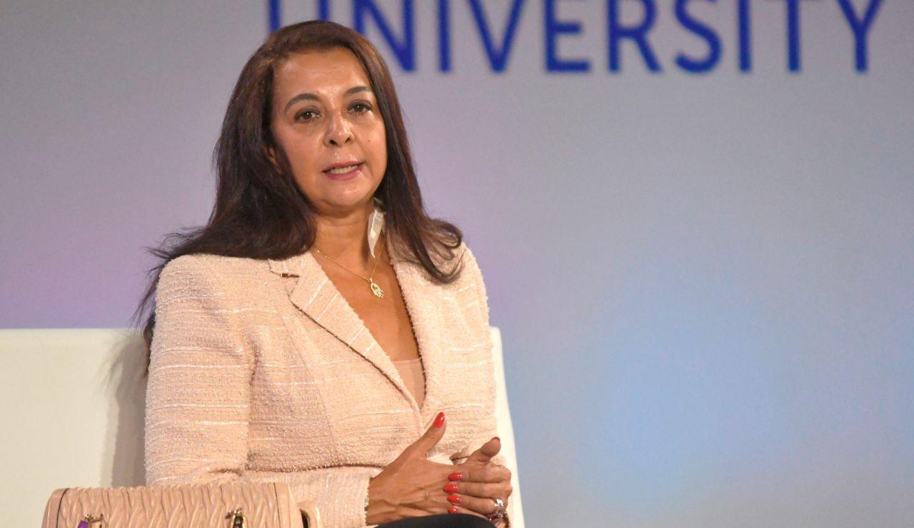 La embajadora de Marruecos en España, Karima Benyaich