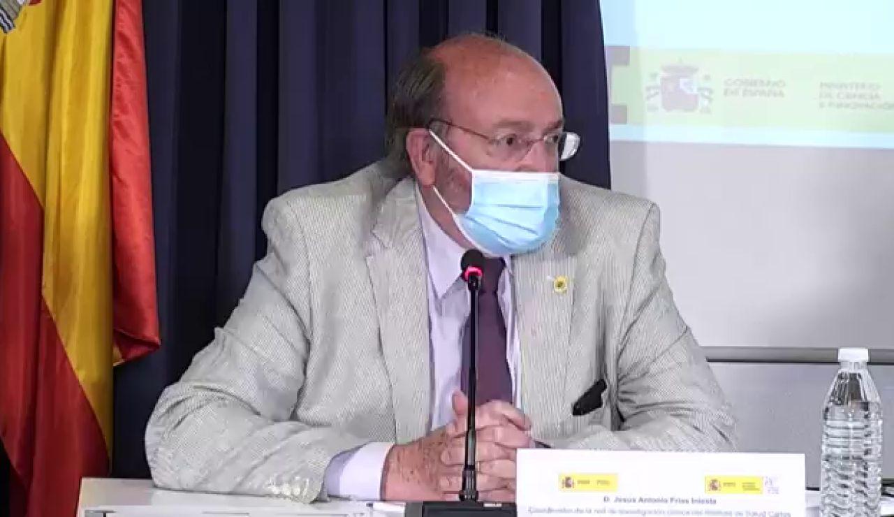 Así ha sido la presentación de los resultados del Instituto Carlos III sobre la eficacia de mezclar vacunas, streaming en directo