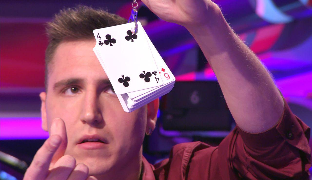 ¡Alucinante! Arturo Valls flipa con la magia de Mag-Igor en '¡Ahora caigo!'