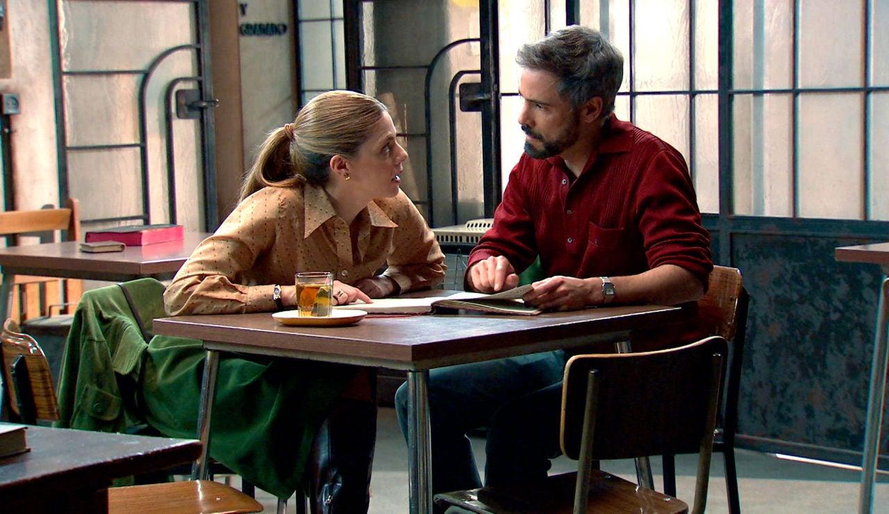 Gorka y Maica hallan una pista clave para encontrar a su hijo