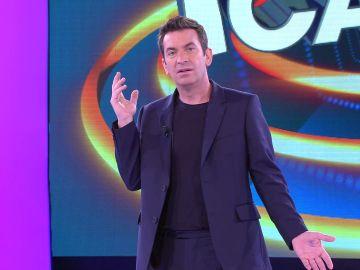 Arturo Valls, enfadado en '¡Ahora caigo!' al sentirse víctima de un agravio comparativo