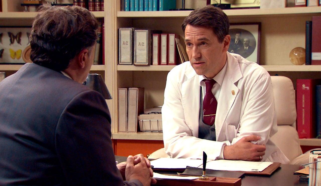 """Las malas noticias de Abel, a Eduardo: """"No tienes tratamiento"""""""