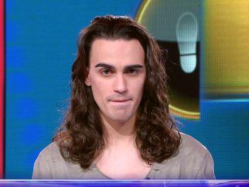 Borja tira de humor en el Duelo Final a dos preguntas de ganar 41.000 euros en '¡Ahora caigo!'