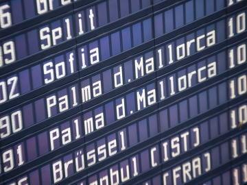 Aeropuerto destino Islas Baleares