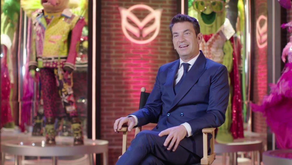 """Arturo Valls, sobre 'Mask Singer 2': """"Hay más espectáculo, más show, más fantasía y más locura"""""""