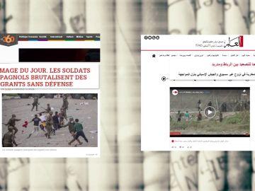La prensa marroquí informa de la crisis en Ceuta