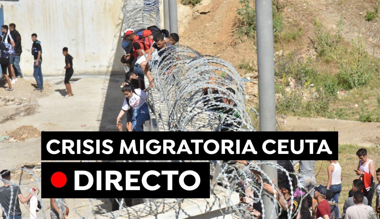 Últimas noticias de Ceuta, en directo: crisis migratoria con Marruecos, llegada de Pedro Sánchez y última hora hoy