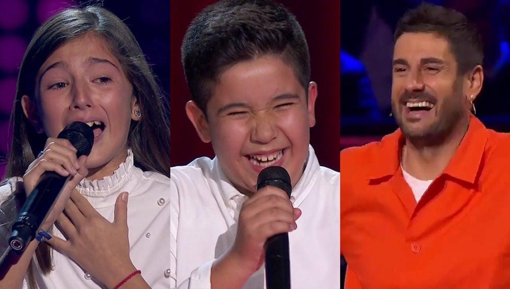 El TOP5 de las segundas Audiciones a ciegas: el derrumbe de Leonor, la oportunidad de Levi y 'Melendi flamenco'