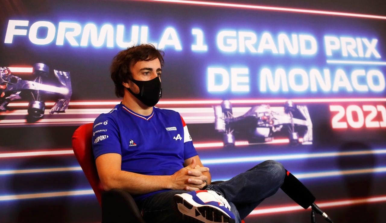 """Fernando Alonso, optimista con las mejoras de Alpine: """"Creo que está en la pelea con Ferrari y McLaren"""""""