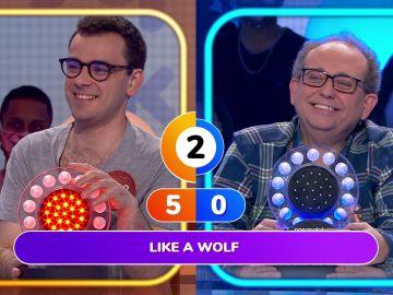 La peculiar versión de 'Como un lobo' de Pablo en 'La pista'