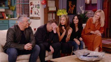 'Friends': Jennifer Aniston, Courteney Cox, Lisa Kudrow, Matt LeBlanc, Matthew Perry y David Schwimmer