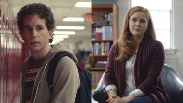 Ben Platt y Amy Adams en 'Dear Evan Hansen'