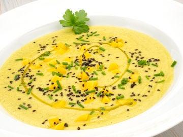 """Receta de sopa fría de calabacín y mango, de Arguiñano: """"Vamos a flipar"""""""