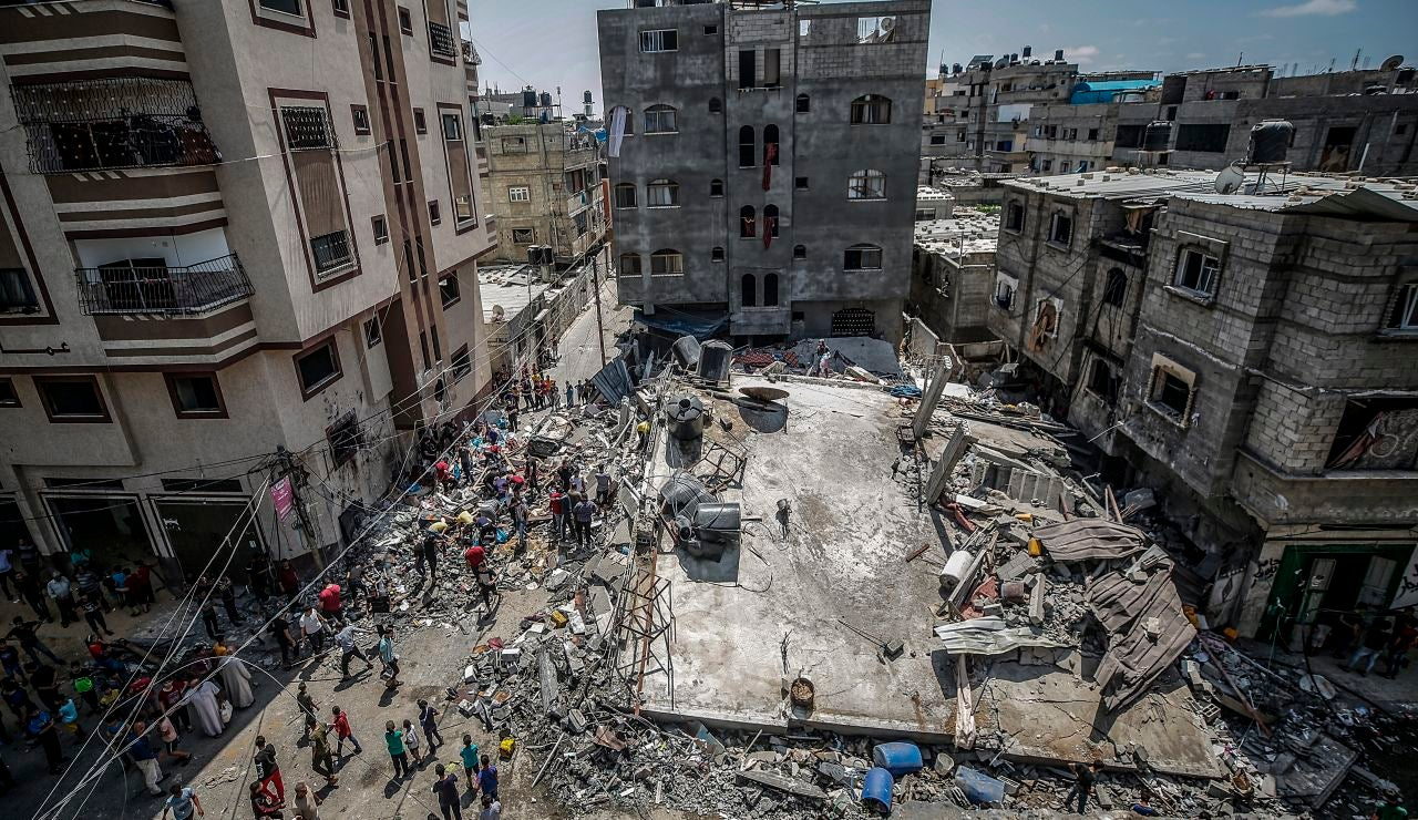 Israel y Hamás aceptan un alto el fuego en Gaza