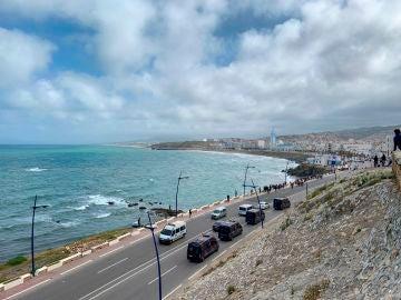 Castillejos, frontera con Ceuta