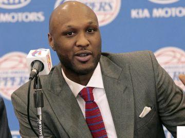 El exjugador de la NBA, Lamar Odom