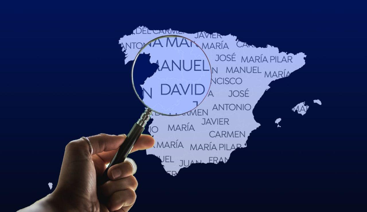 Los nombres y apellidos más comunes de España por provincias