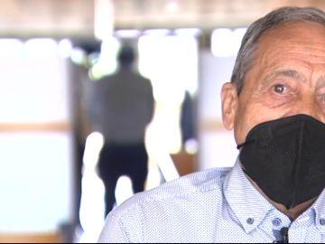 Bernardo Hernández, uno de los pacientes del Hospital Benito Menni de Valladolid que sufrió alucinaciones a causa de la COVID