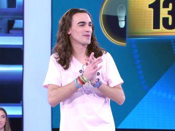 ¡Borja cae tras 32 programas! Se despide de '¡Ahora caigo!' con 131.004 euros tras un insólito fallo