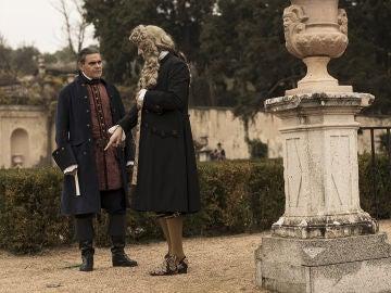 """El jueves, el Rey para los pies a Diego de Castamar: """"Ni puedo dar esos indultos y ni tú enamorarte de criadas"""""""