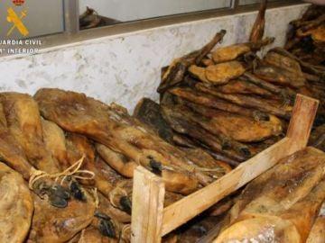 Una empresa de Jaén es investigada por falsificar la imagen de la empresa DO Guijuelo en productos cárnicos