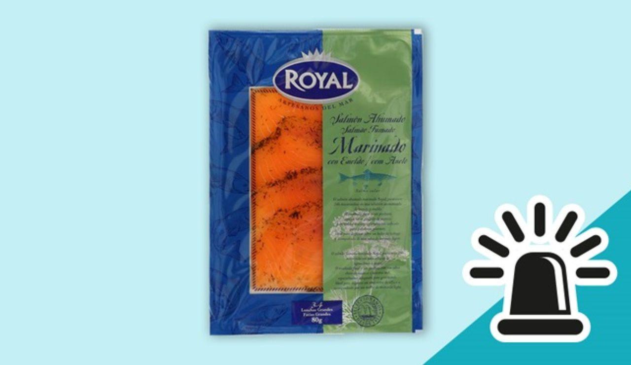 Alerta sanitaria por la presencia de listeria en un lote de salmón ahumado marinado fabricado en España