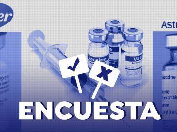 Encuesta: ¿Qué vacuna elegirías para la segunda dosis después de haber recibido la primera con Astrazeneca?