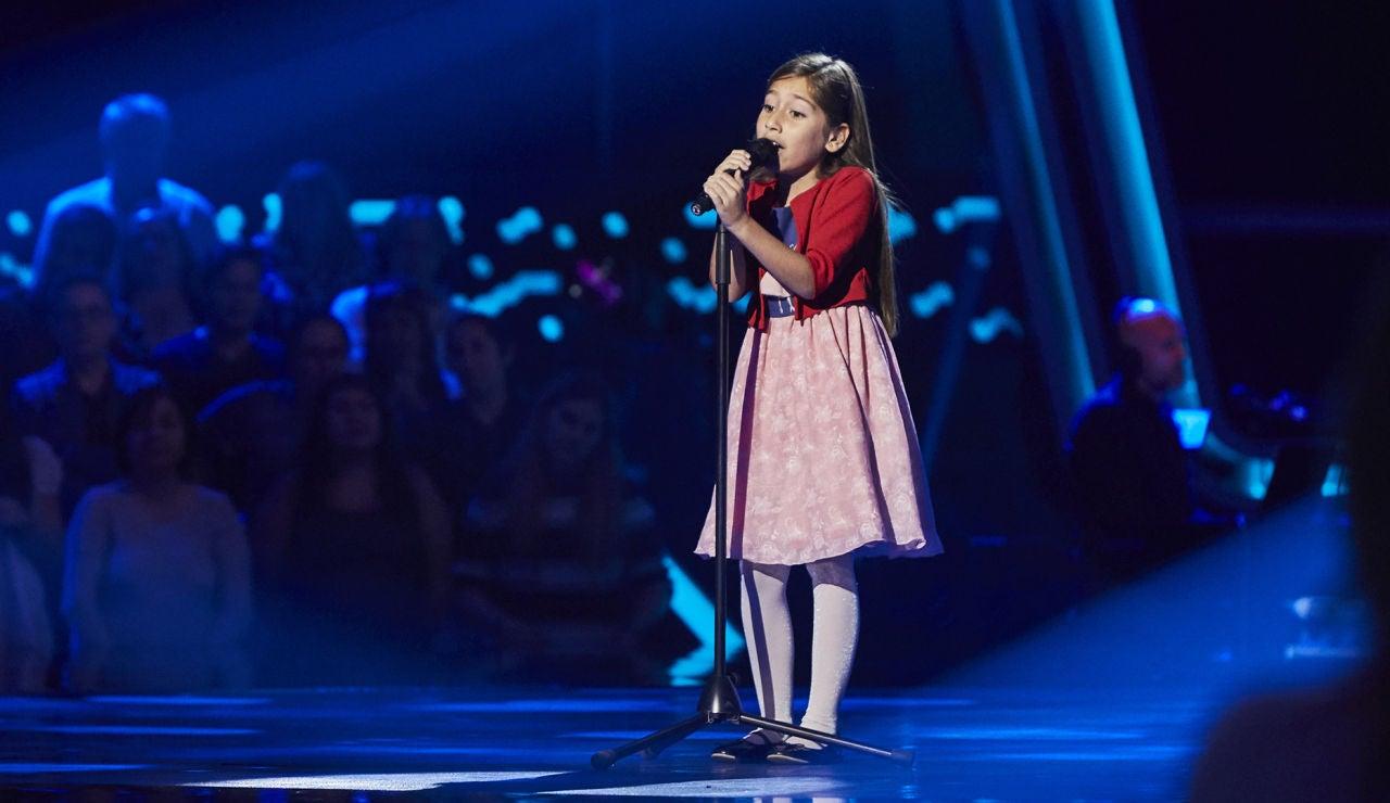 Alison Fernández canta 'Ya te olvide' en las Audiciones a ciegas de 'La Voz Kids'