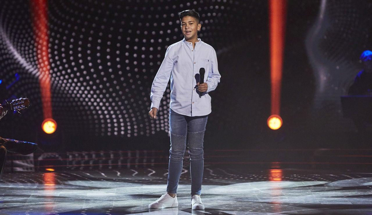 Dayron Jiménez canta 'El pez más viejo del río' en las Audiciones a ciegas de 'La Voz Kids'