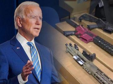 El uso de armas 'fantasma' en Estados Unidos, el lastre de la era Joe Biden
