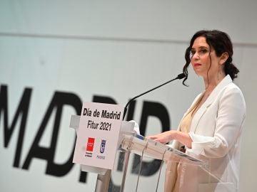 Isabel Díaz Ayuso en Fitur 2021