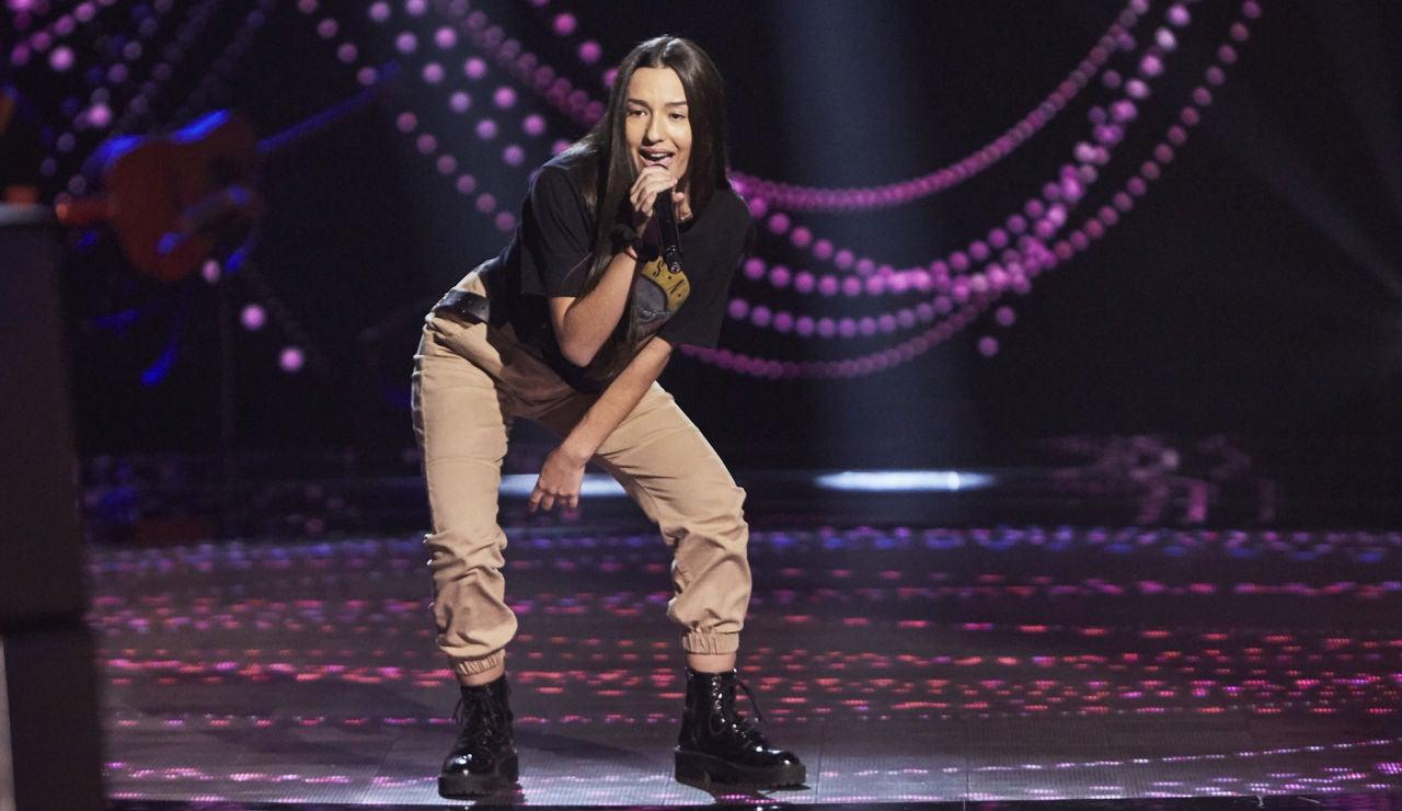 Georgia Izquierdo canta 'Proud Mary' en las Audiciones a ciegas de 'La Voz Kids'