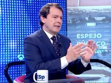 Alfonso Fernández Mañueco en Espejo Público
