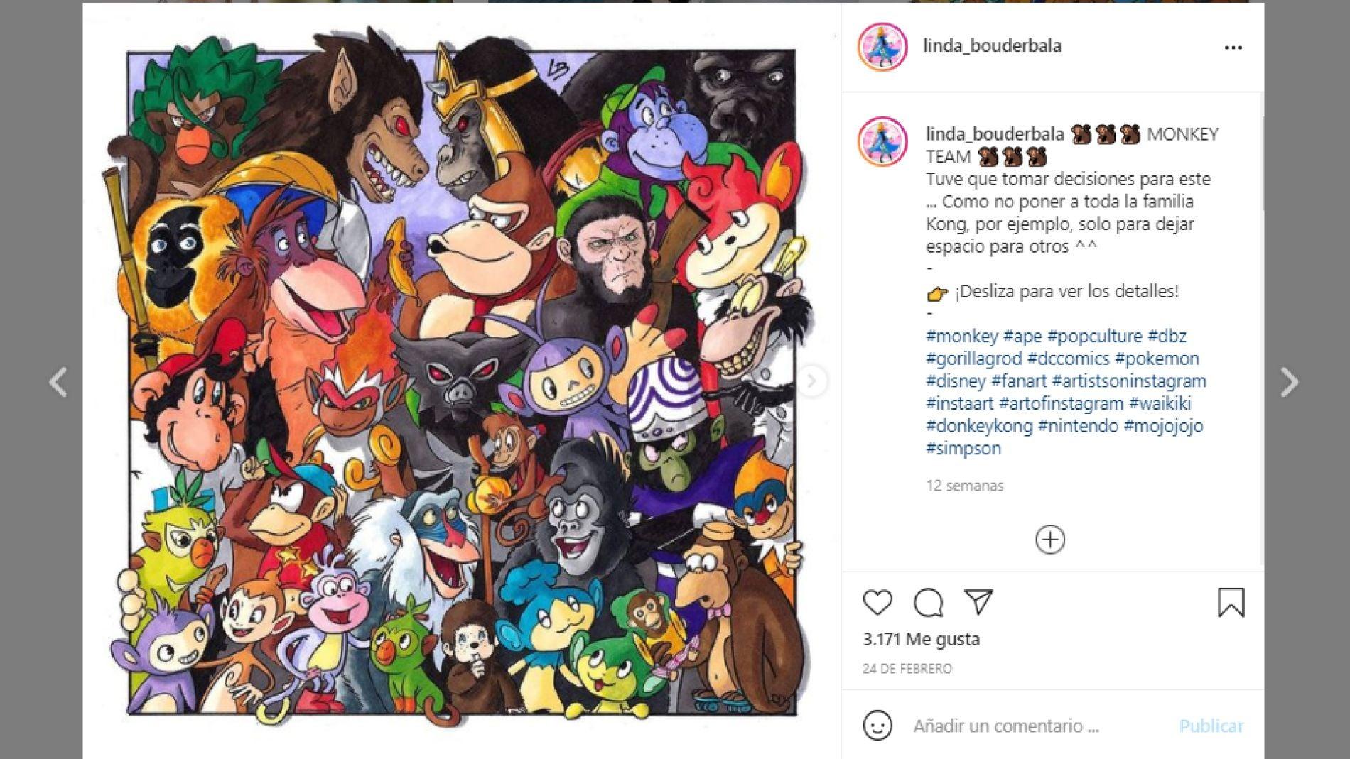 Instagram de @linda_bouderbala