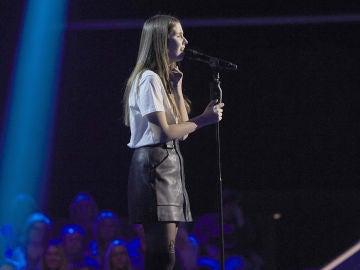 Patricia Kirilova canta 'Lay me down' en las Audiciones a ciegas de 'La Voz Kids'