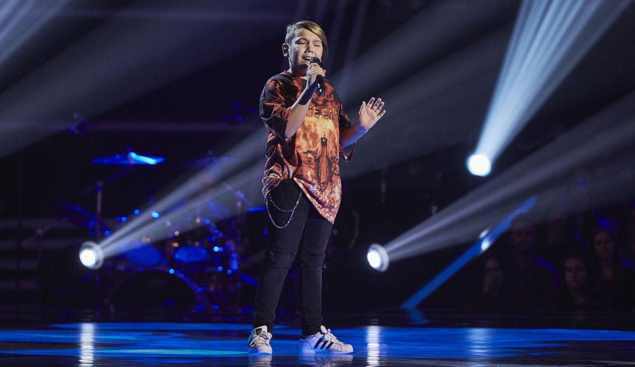 Guillem García canta 'All of me' en las Audiciones a ciegas de 'La Voz Kids'