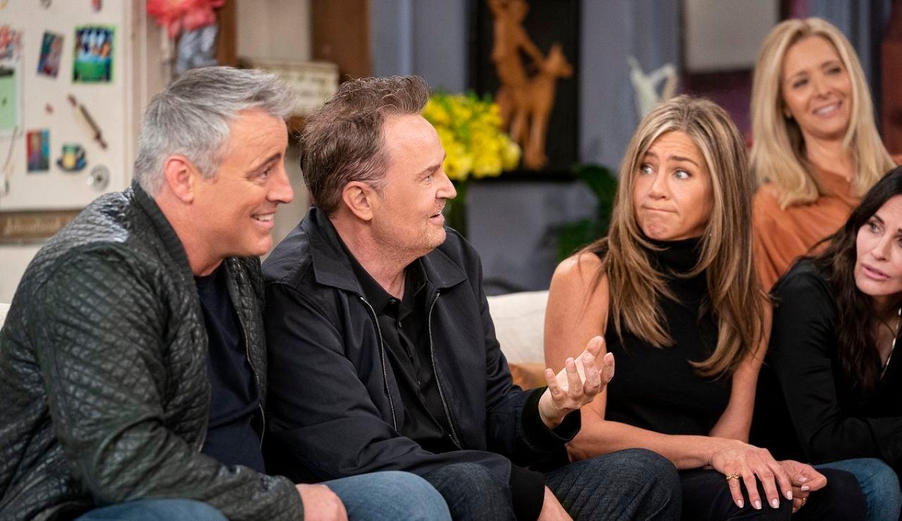 Los actores de 'Friends' en la reunión