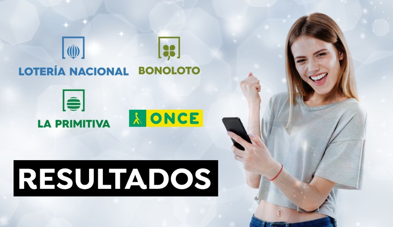 Comprobar resultados de la Lotería Nacional, ONCE, La Primitiva y Bonoloto del jueves 20 de mayo de 2021