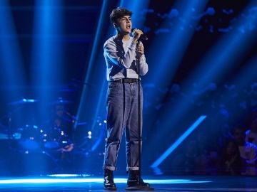 Adrián Belmonte canta 'Jealous' en las Audiciones a ciegas de 'La Voz Kids'