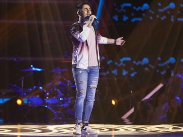 Marcos Moreno canta 'Tu boca' en las Audiciones a ciegas de 'La Voz Kids'