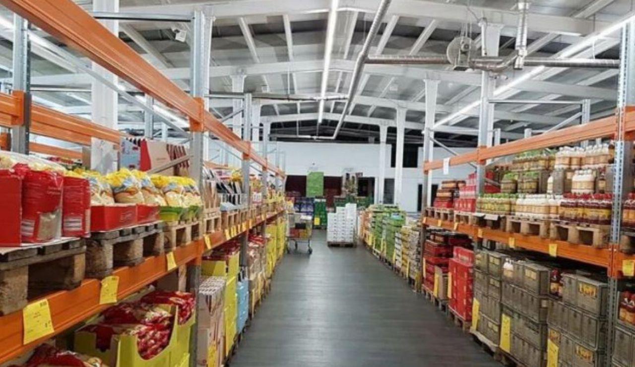 Supermercado Mere por dentro