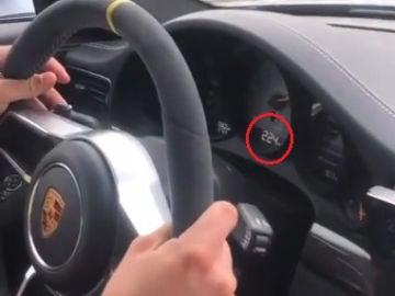 La Policía Foral denuncia a varios conductores de vehículos de alta gama